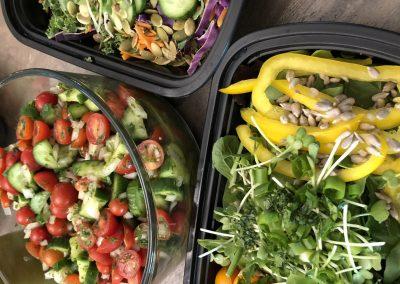 Meal Prep-3 Salads