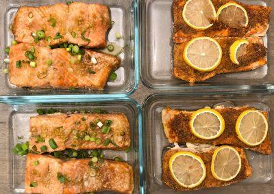 Salmon 2-ways