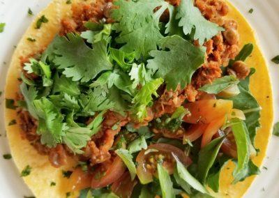 Vegan Lentil Taco